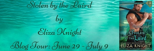 Stolen by the Laird by Eliza Knight Blog Tour Banner