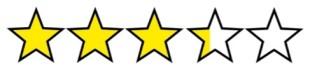 3.25 stars