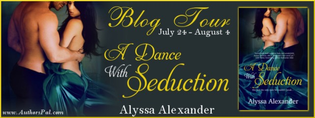 A Dance with Seduction Blog Tour Banner