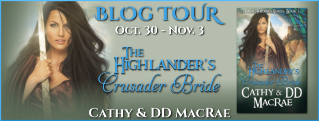 The Highlander's Crusader Bride Banner