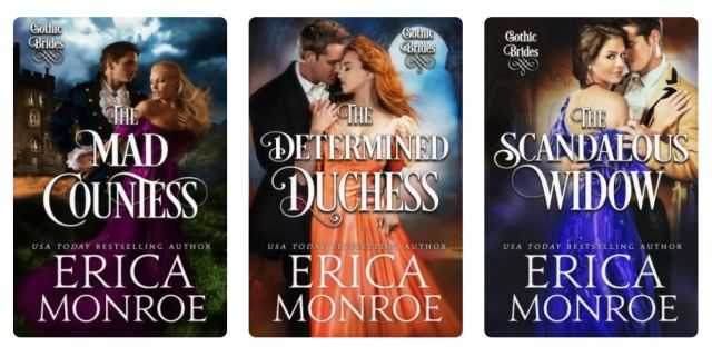 Gothic Brides Series Covers