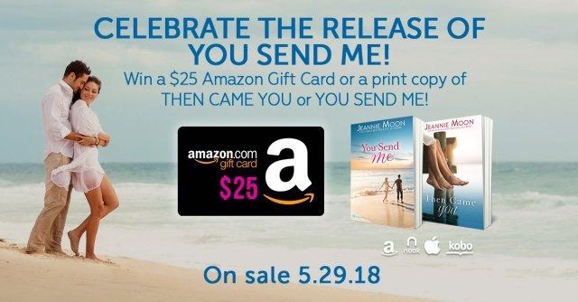 You Send Me Giveaway Banner