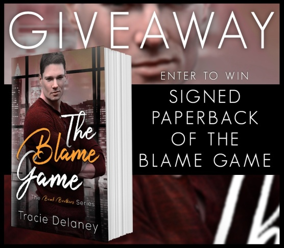 The Blame Game Giveaway
