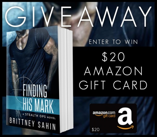 Finding His Mark Giveaway