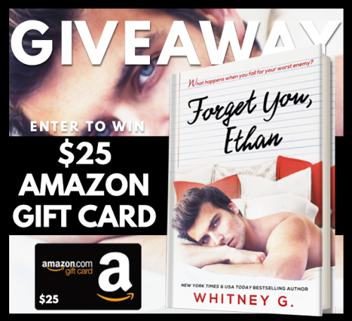 Forget You Ethan Giveaway