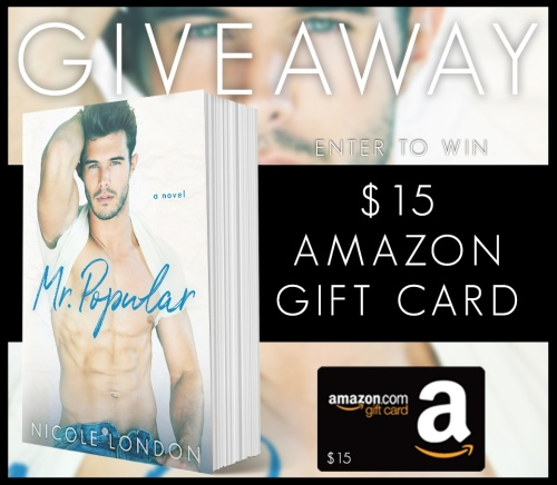 Mr. Popular giveaway