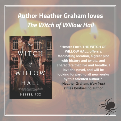 2_Week of Aug 13_Heather Graham sharable_witch of willow hall