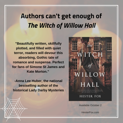 4_Week of Aug 27_Anna Lee Huber sharable_witch of willow hall