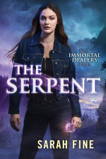 Book Cover - Immortal Dealers 1.0 - The Serpent by Sarah Fine