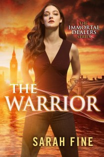 Book Cover - Immortal Dealers 3.0 - The Warrior by Sarah Fine