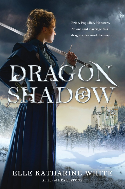 Book Cover - Dragonshadow by Elle Katharine White