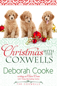 Christmas with the Coxwells, a short story featuring the characters in The Coxwell Series of contemporary romances by Deborah Cooke