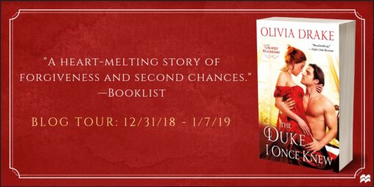 Olivia Drake Blog Tour Header