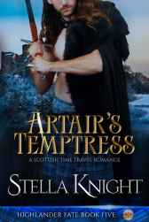 Artair's Temptress Cover