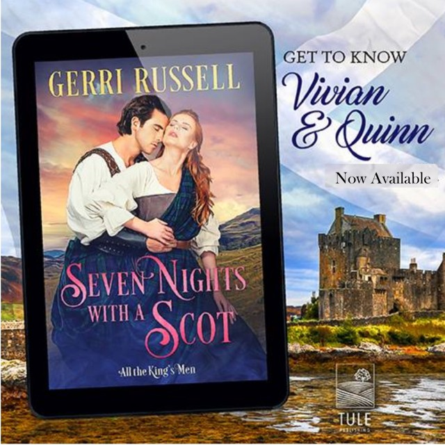 Seven Nights with a scot banner