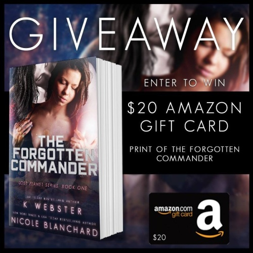 the forgotten comander giveaway