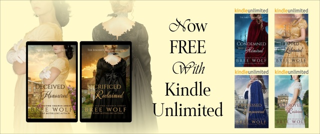 Kindle Unlimited Bree Wolf Banner