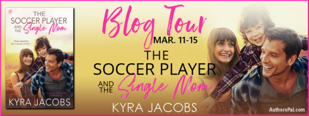 The Soccer Player and the Single Mom Tour Banner