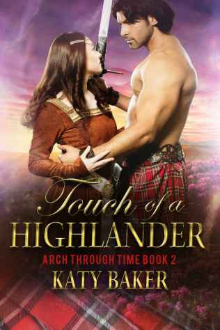 Touch of a highlander cover