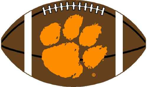 Clemson University Tiger Paw Logo N2 image in Vector cliparts category at pixy.org
