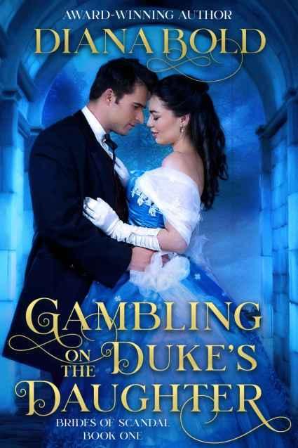 Gambling on the Dukes daughter Cover