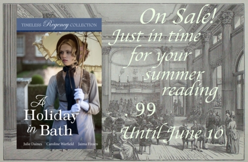 a holiday in bath sale banner