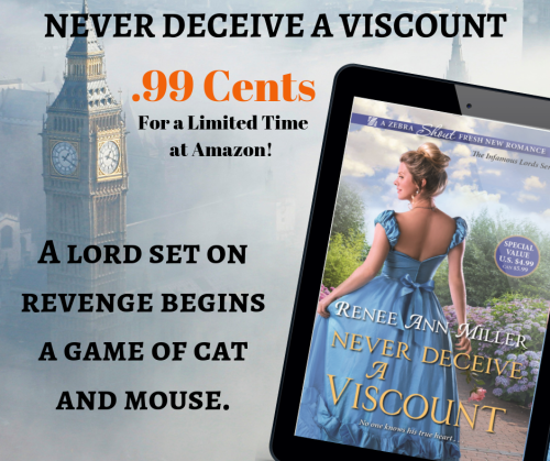 Never Deceive a Viscount Sale Banner