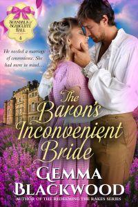 the baron's inconvenient bride cover