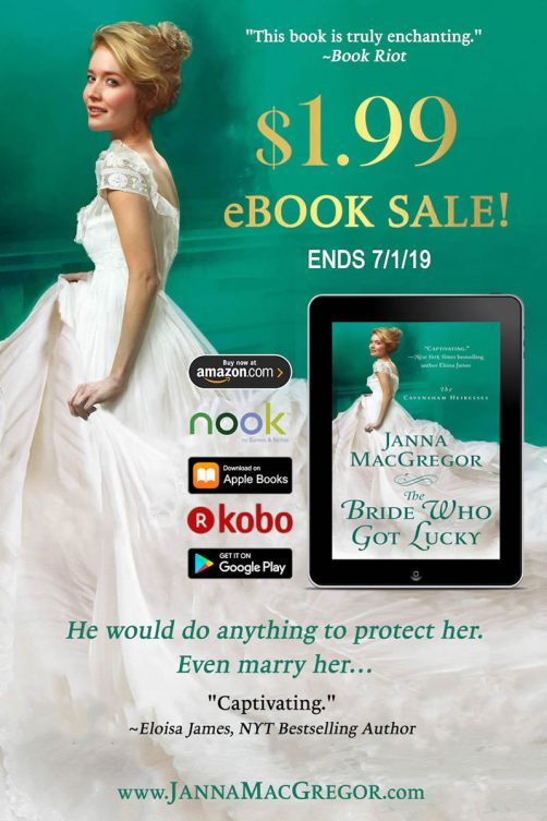The Bride Who Got Lucky Sale