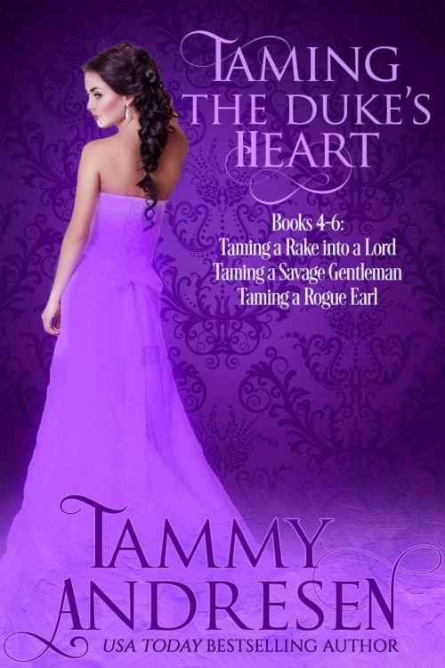 Taming the Duke's Heart Cover