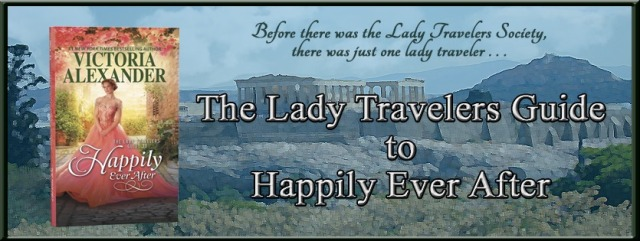 The Lady Traveler's Guide To Happily Ever After Banner