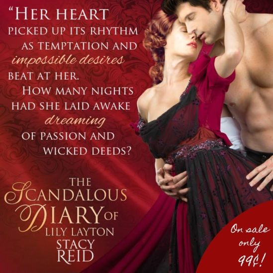 the scandalous diary of Lily Layton Sale banner