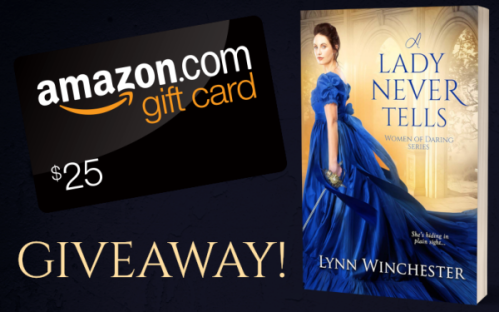 A lady Never Tells Giveaway