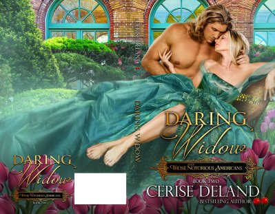 daring Widow paperback cover