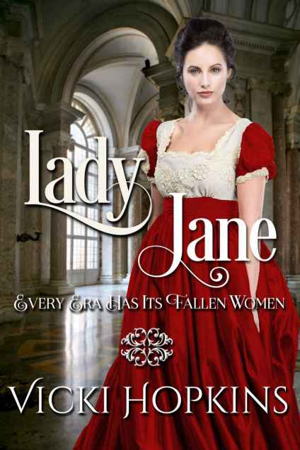 Lady Jane Regency Fallen Woman Cover