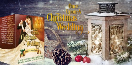 Once Upon a Christmas Wedding banner II