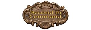 second in command logo