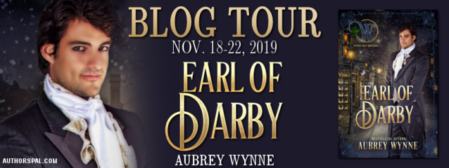 Earl of Darby Blog Tour Banner