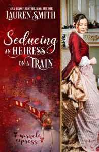 Seducing an Heiress on a Train Cover