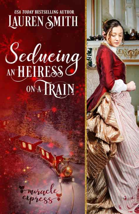 Seducing an Heiress on a Train Cover