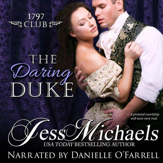 The Daring Duke Audio Cover