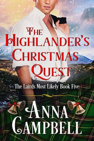 The Highlander's Christmas Quest Cover