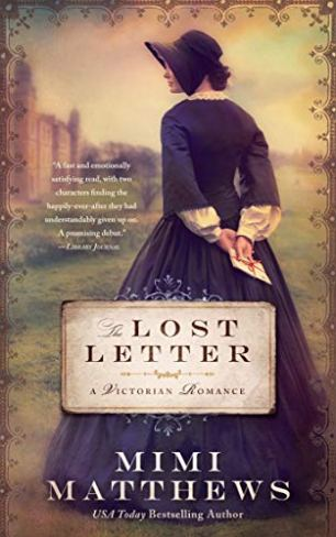 the lost letter new cover