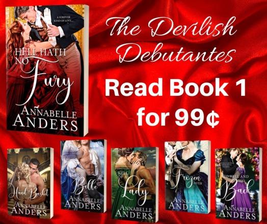 Devilish Debutantes Banner